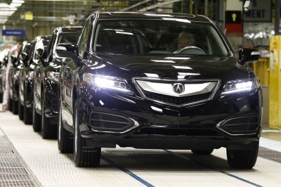 2016 RDX begins production at East Liberty Plant in Ohio