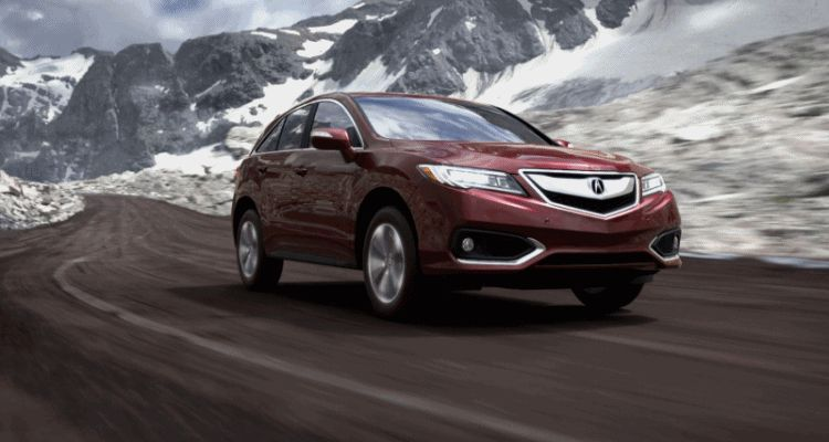 2016 Acura RDX - Basque Red II