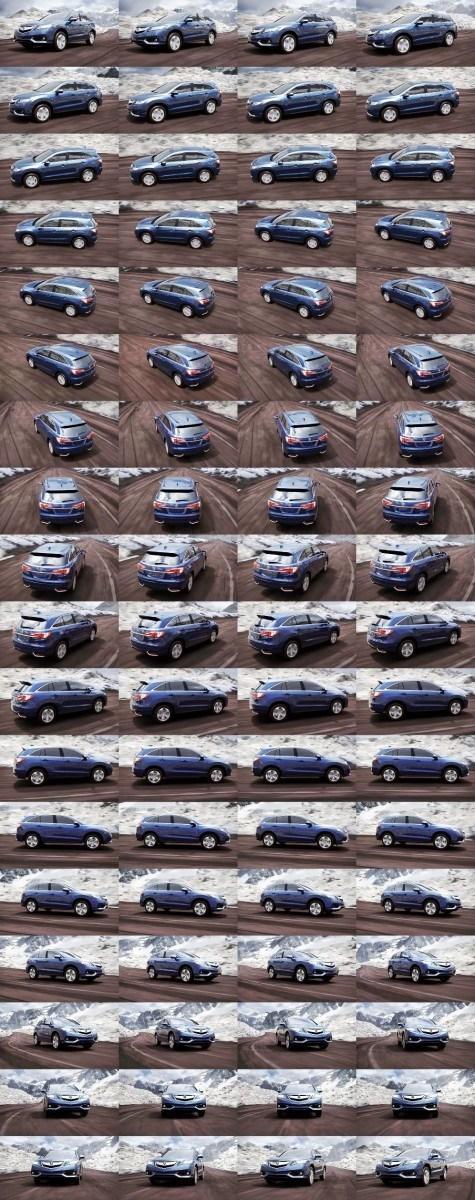 2016 Acura RDX Fathom Blue