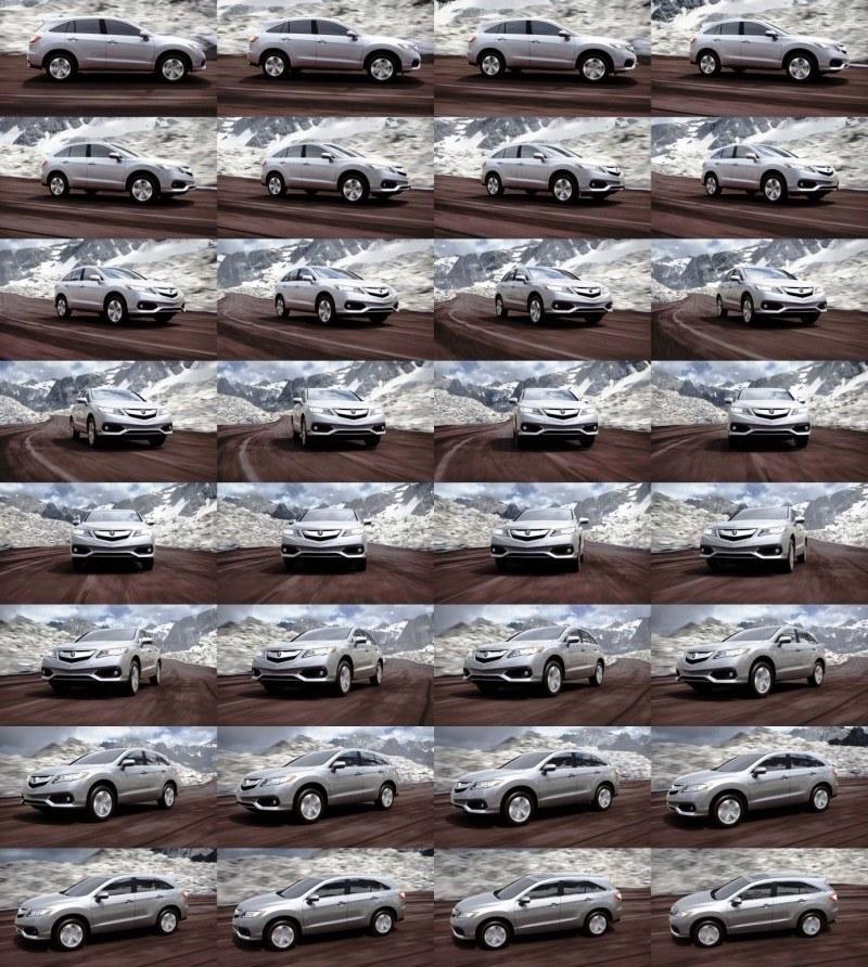 2016 Acura RDX - slate silver
