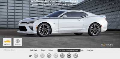 2016 Camaro SS Wheel Options 3