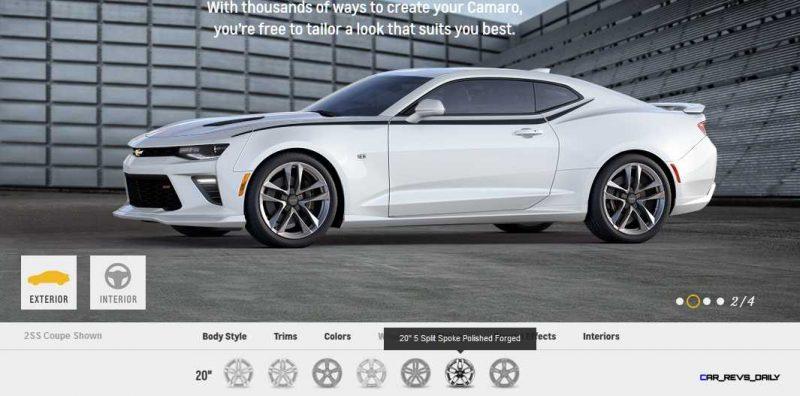 2016 Camaro SS Wheel Options 3