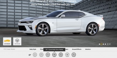 2016 Camaro SS Wheel Options 4