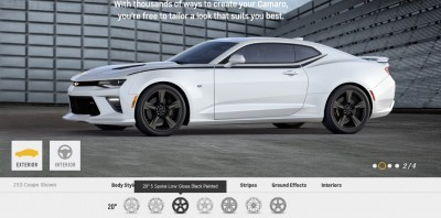 2016 Camaro SS Wheel Options 5