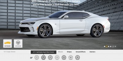 2016 Camaro SS Wheel Options 6
