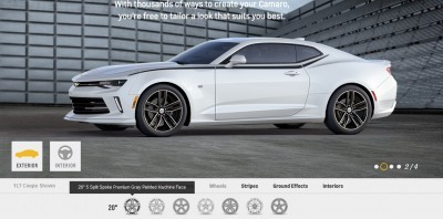 2016 Camaro SS Wheel Options 7