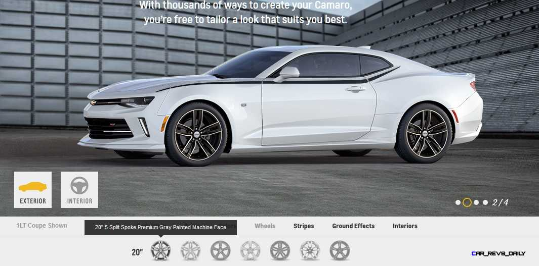 2016 Chevrolet Camaro COLORS
