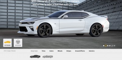 2016 Camaro SS Wheel Options 8