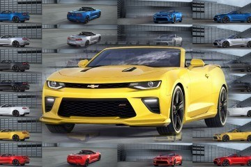 2016 Chevrolet Camaro Pricing + Animated Colors and Wheels Visualizer