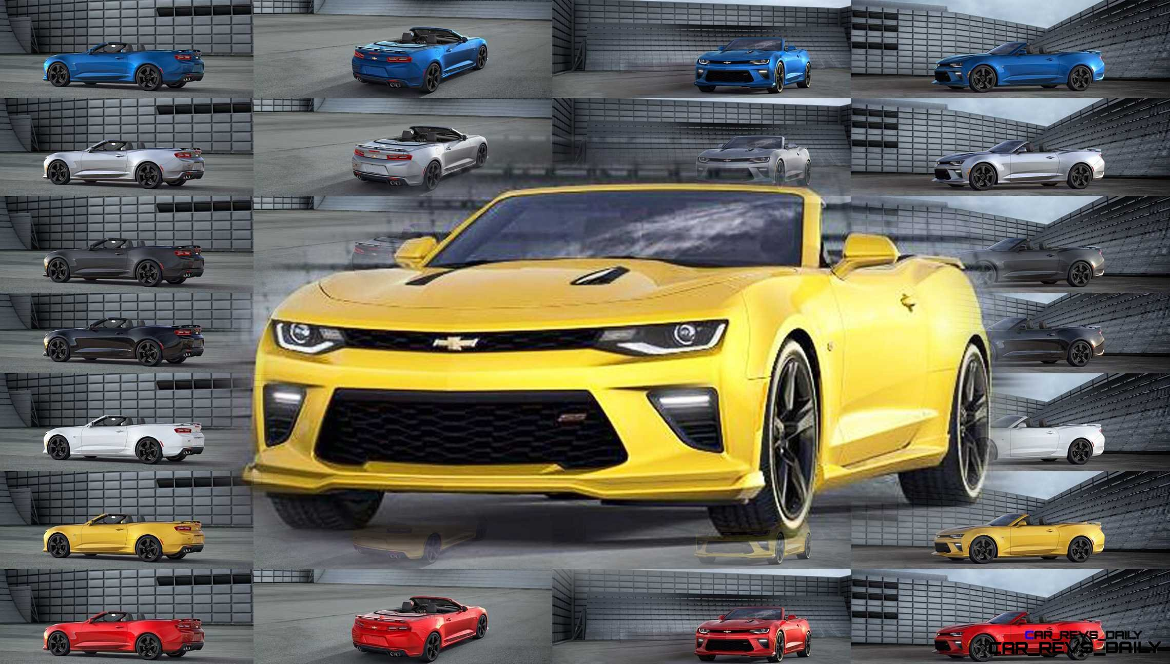 2016 Chevrolet Camaro Pricing Animated Colors And Wheels Visualizer
