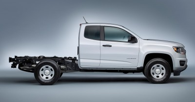 2016 Chevrolet Colorado box delete option