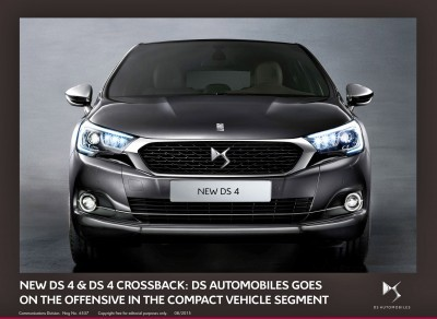 2016 Citroen DS4 and DS4 Crossback 12