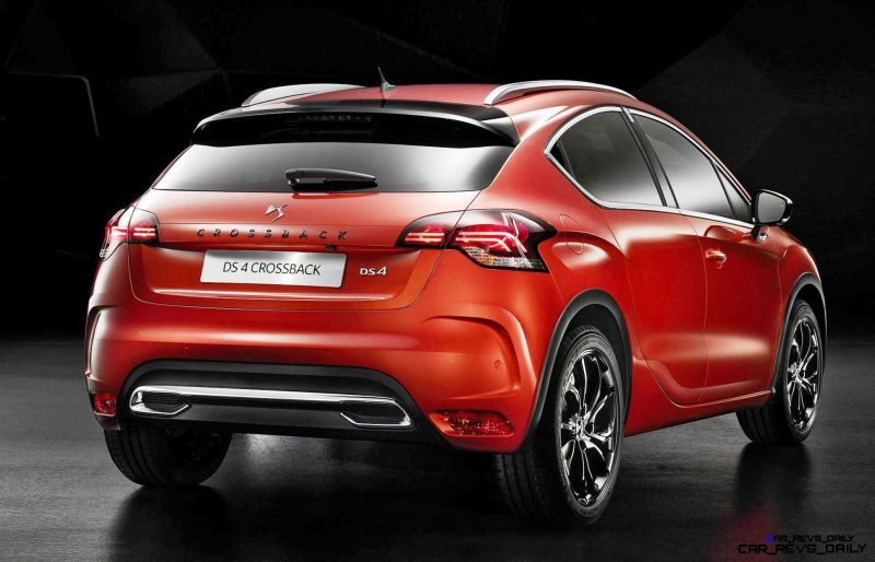 2016 Citroen DS4 and DS4 Crossback 13