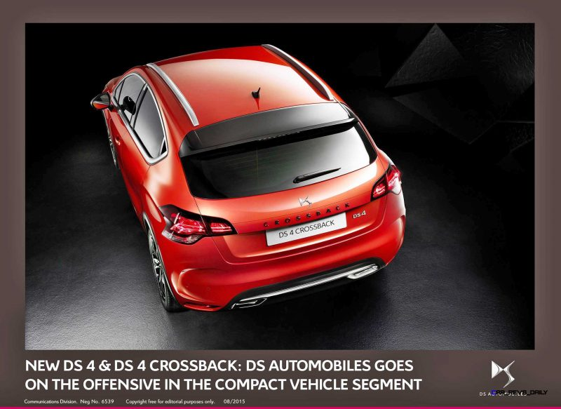 2016 Citroen DS4 and DS4 Crossback 14