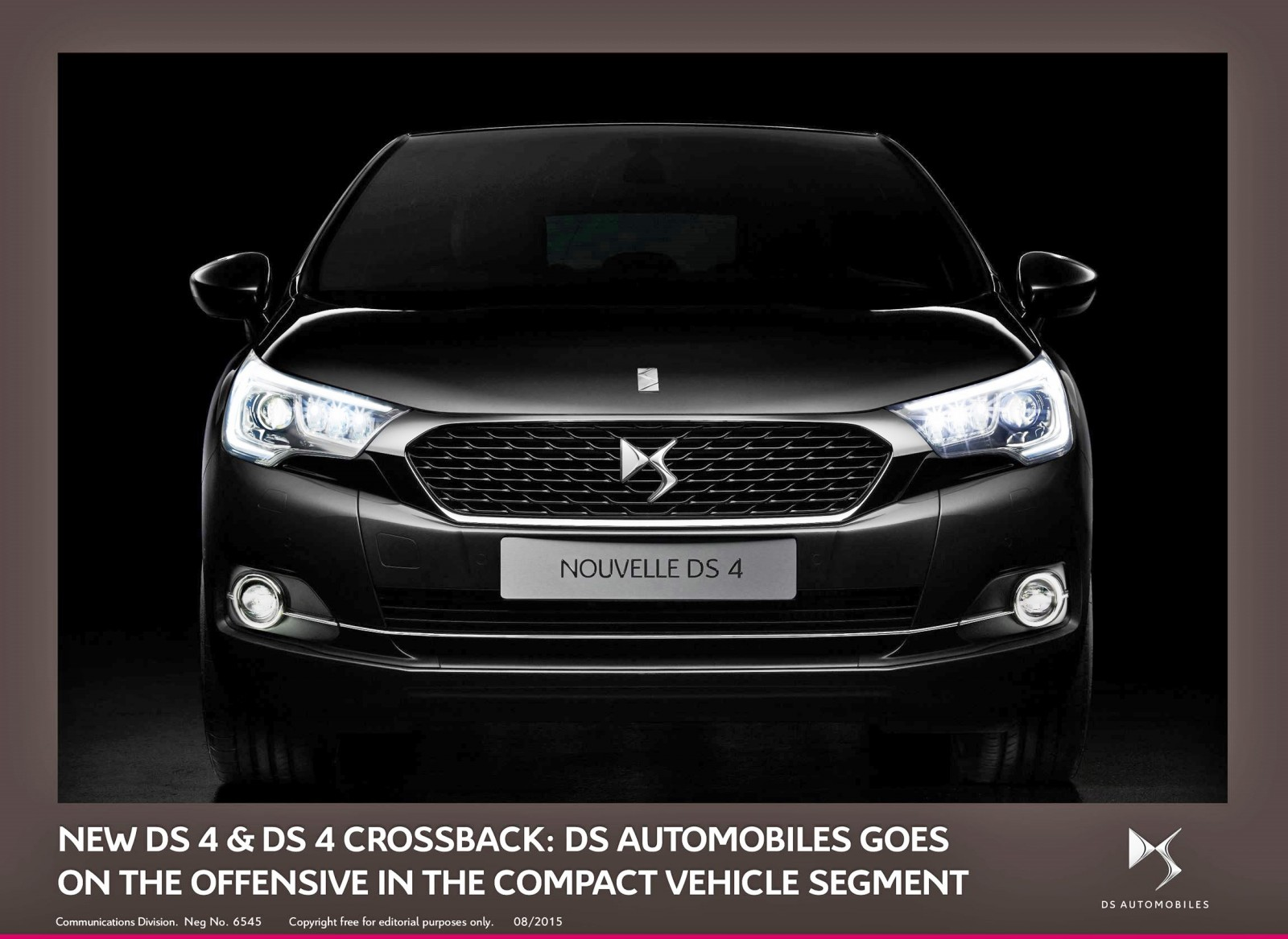 New ds 4 and ds 4 crossback ds takes the offensive in the compact