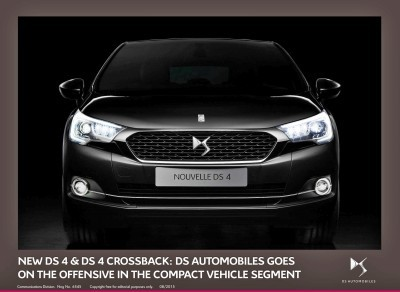 2016 Citroen DS4 and DS4 Crossback 15