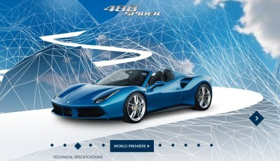 2016 Ferrari 488 Spider Reveal 7