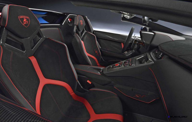 2016 Lamborghini Aventador LP 750-4 Superveloce Roadster 8