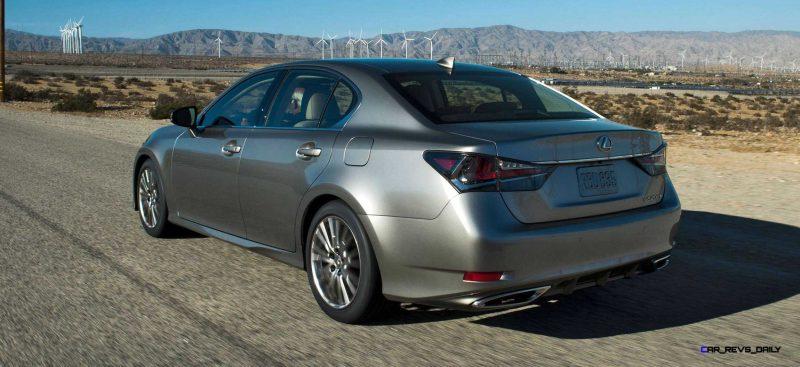 2016 Lexus GS200t 8