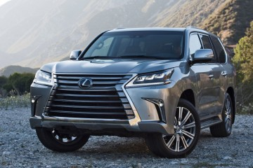 2016 Lexus LX570 Debuts Stunning New Cabin and Escalade-Proof Exterior Flash!