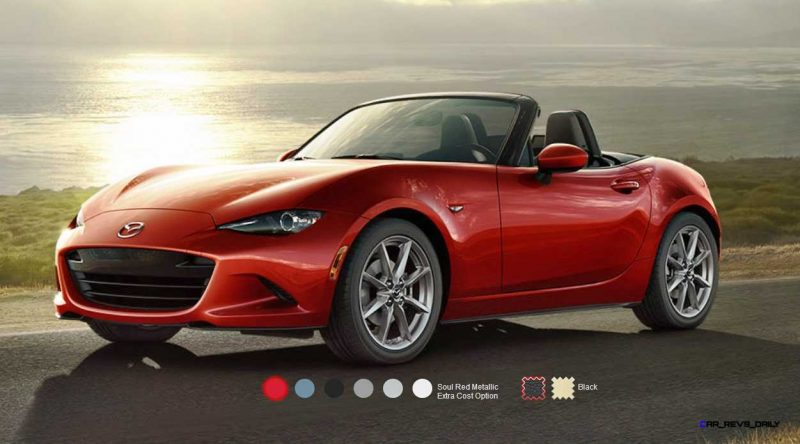 2016 Mazda MX-5 Colors 1