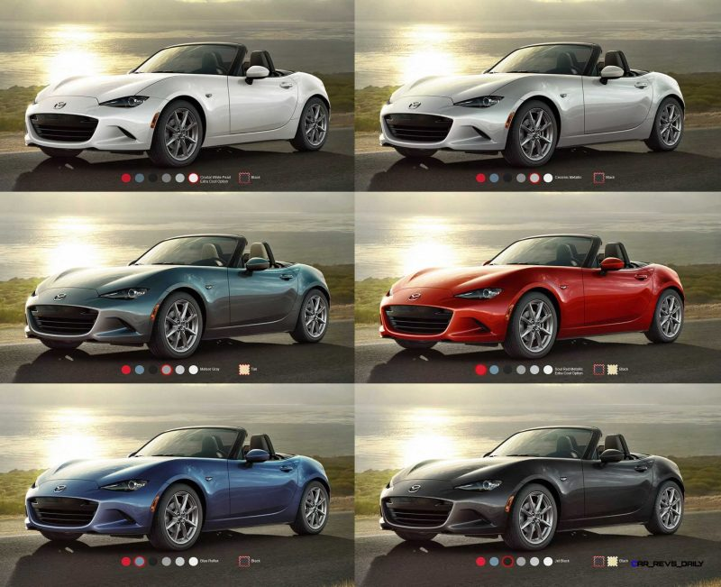 2016 Mazda MX-5 Colors 6-tile