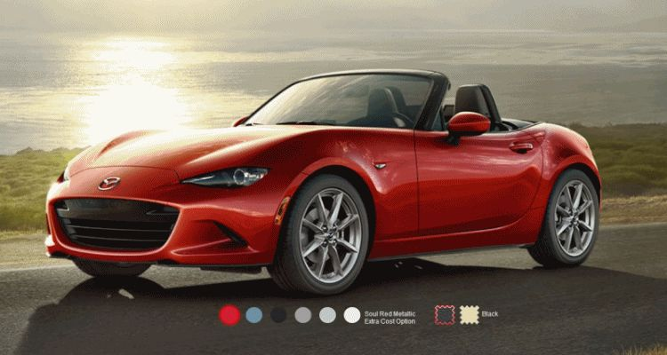 2016 Mazda MX-5 Colors