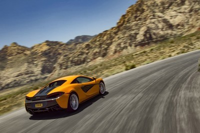 2016 McLaren 570S Orange 2