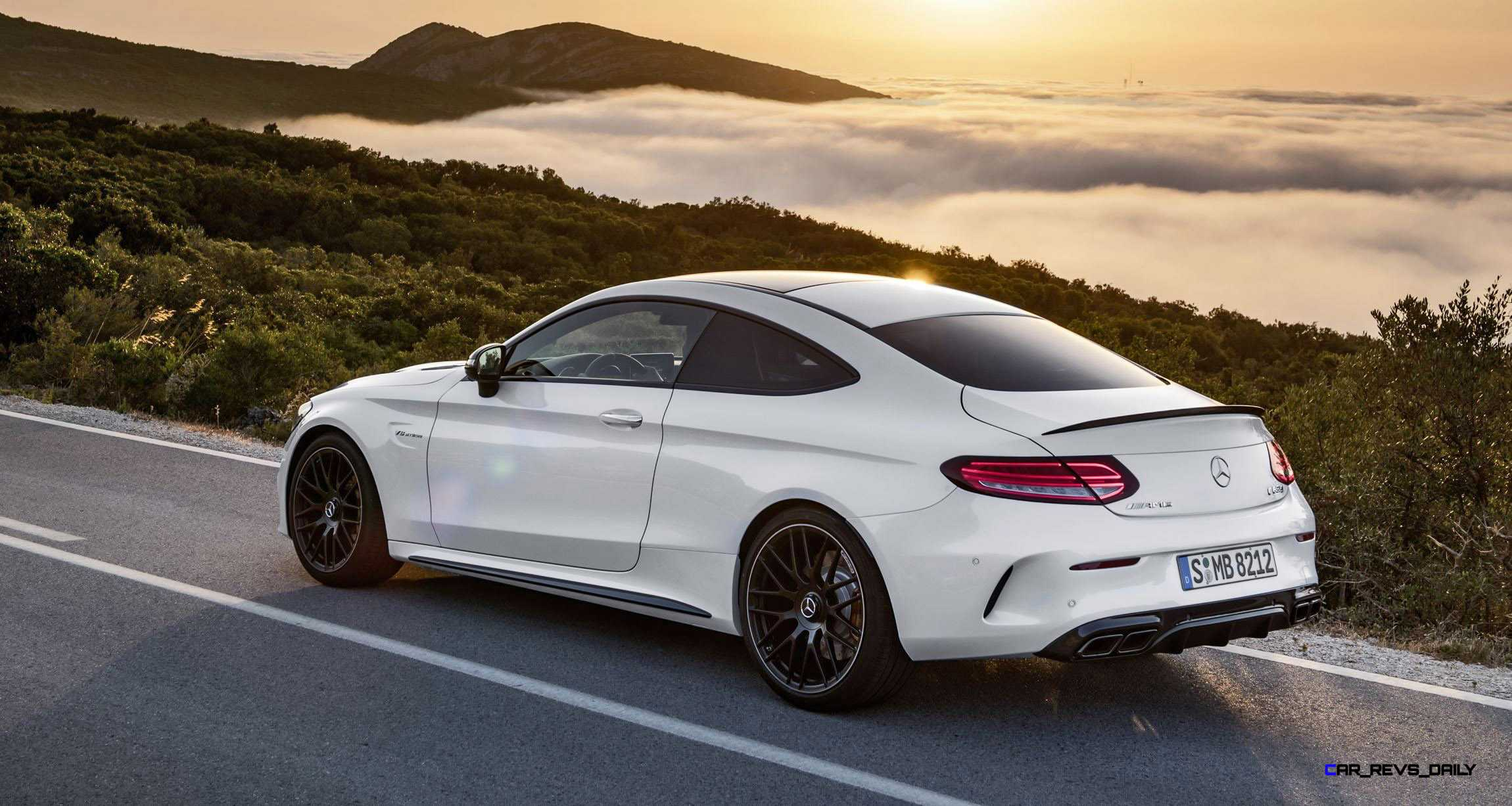 2017 mercedes amg c63 s coupe revealed 510hp widebody v8tt with rwd