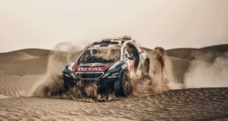 2016 Peugeot 2008 DKR 2015+