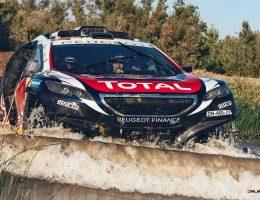 Revised Peugeot DKR 2015+ Battle-Testing New Engine/Suspension Setups Ahead of Dakar 2016