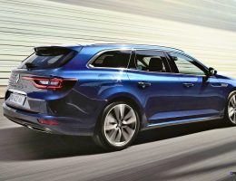 2016 Renault Talisman Estate Runs New Tech and Style To Battle Euro Wagon All-Stars