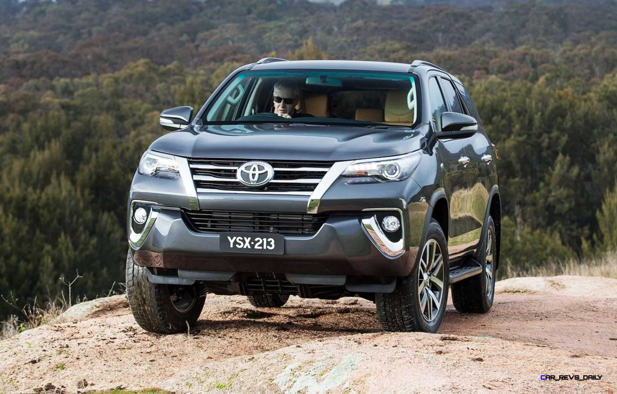 2016 Toyota FORTUNER Global SUV Previews US-Market 2018 Lexus GX460 Replacement