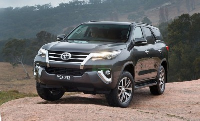 2016 Toyota FORTUNER Global SUV Previews US Market 2018