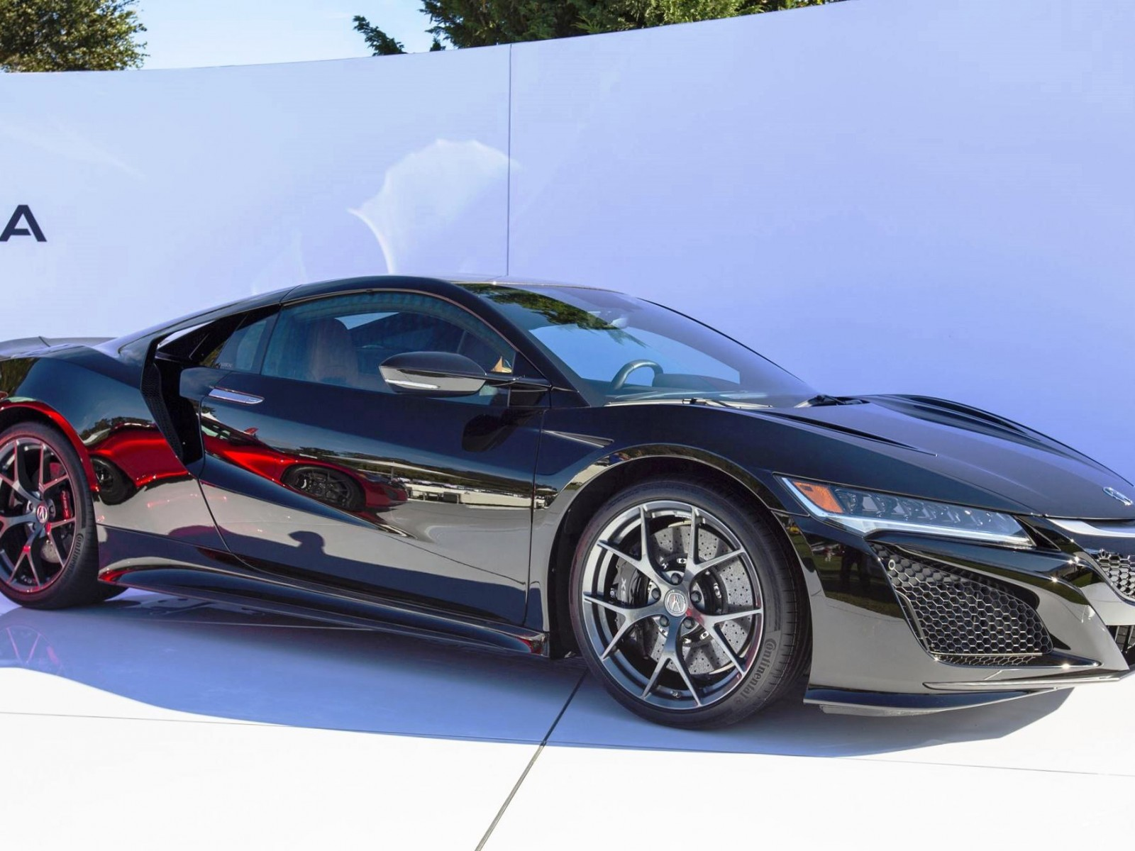 acura nsx at the quail 2015. Black Bedroom Furniture Sets. Home Design Ideas