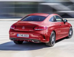 2017 Mercedes-Benz C300 Coupe Revealed – Arrives Stateside in March 2016 With High-Fashion Style