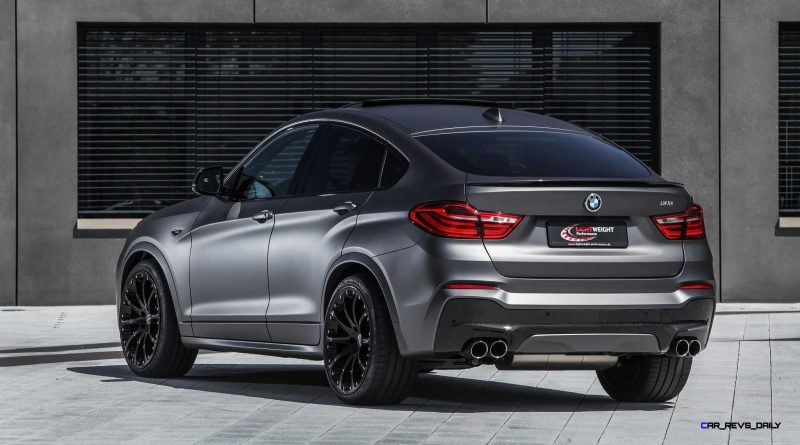 BMW X4 by LIGHTWEIGHT Performance 24