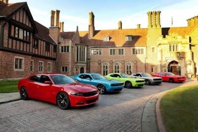 Rochester (Mich)– June 27, 2014 –Dodge marked its 100th anniversary by showcasing its historically significant vehicles at the Meadow Brook Estate. Media were able to test drive more than two dozen historic Dodge sedans, muscle cars, compacts, minivans and military vehicles.