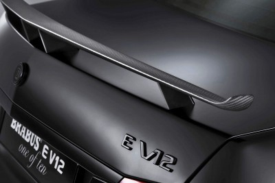 Concept Flashback - 2009 BRABUS E V12 'One of Ten' 12