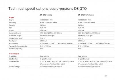 D8 GTO Brochure 9