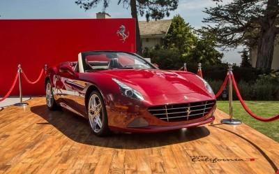 Ferrari Pebble Beach 2015 - Shattering Record Books + Cali T Specials, Sergio and 488GTB! 12