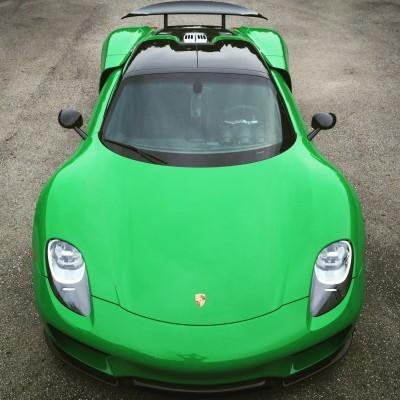 Graham Rahal's Porsche 918 Spyder_20119914276_o