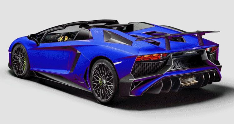 LAMBO SV ROADSTER COLORIZER