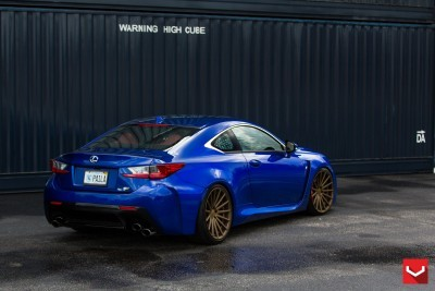 Lexus RC F on Vossen VFS-2 - © Vossen Wheels_17768334884_o