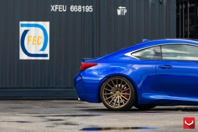 Lexus RC F on Vossen VFS-2 - © Vossen Wheels_18203173778_o