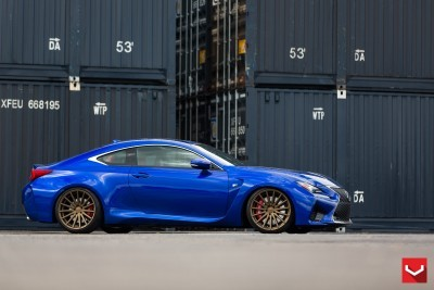 Lexus RC F on Vossen VFS-2 - © Vossen Wheels_18203173948_o