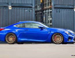 Tuner Showcase – 2015 Lexus RC-F on VOSSEN VFS2 Satin Bronze Alloys in 48 Pics