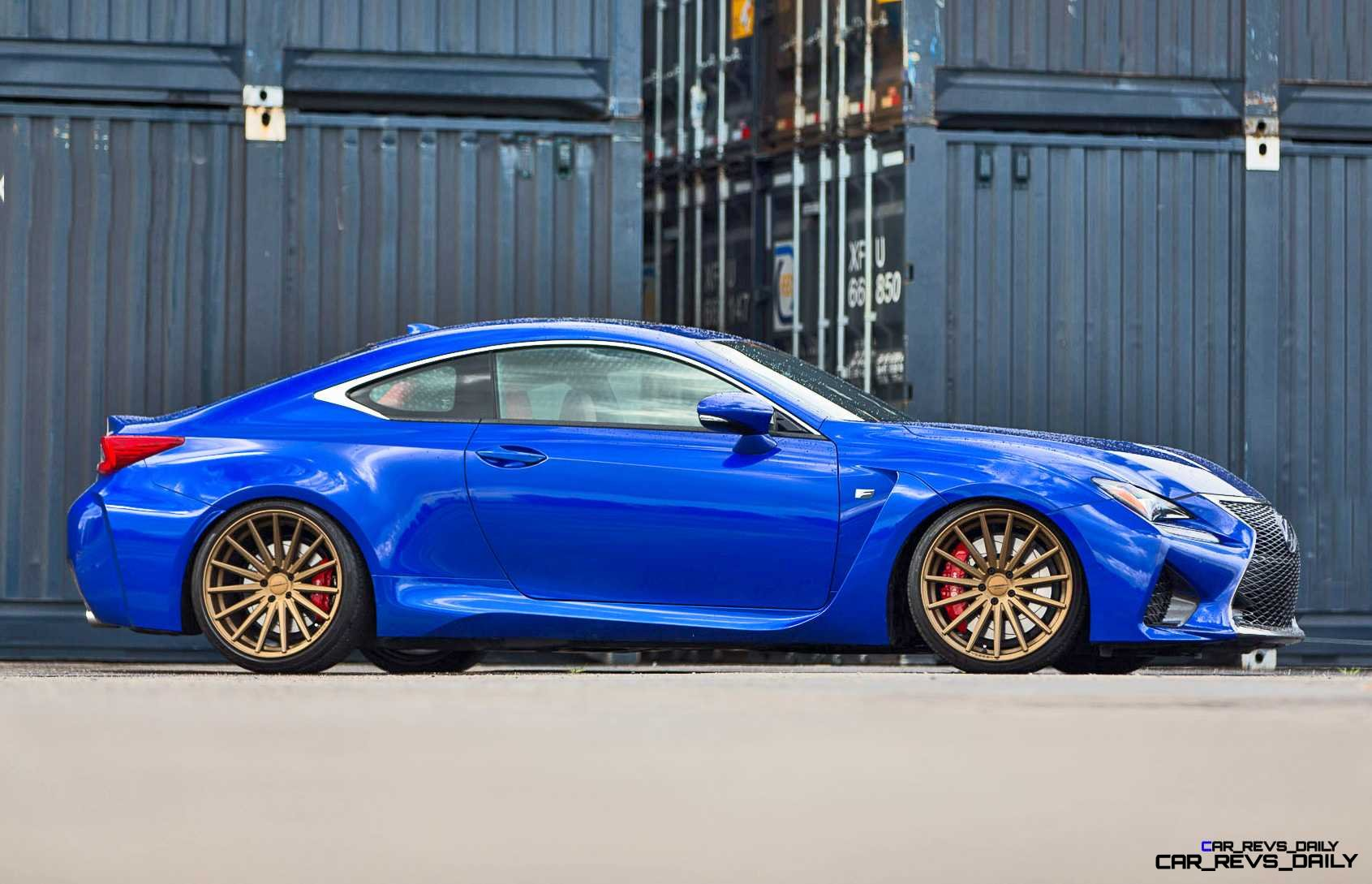 Lexus-RC-F-on-Vossen-VFS-2---©-Vossen-Wheels_18203173948_o