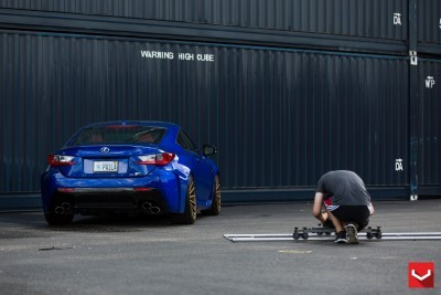 Lexus RC F on Vossen VFS-2 - © Vossen Wheels_18203285810_o