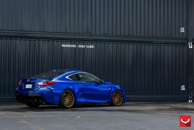 Lexus RC F on Vossen VFS-2 - © Vossen Wheels_18203288260_o
